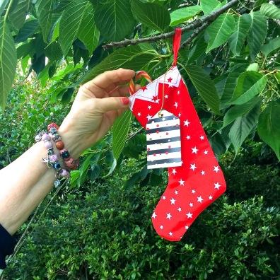 A Christmas stocking to give a smile. Hamilton Gardens, 2018