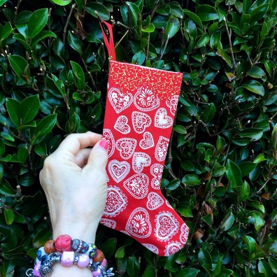 A Christmas stocking to give a smile. Hamilton Gardens, 2018