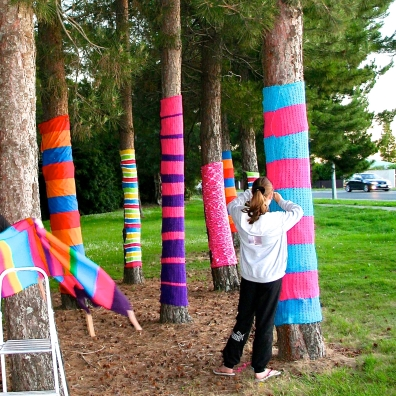 Knitting for a cause.