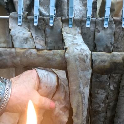 Burning the edges