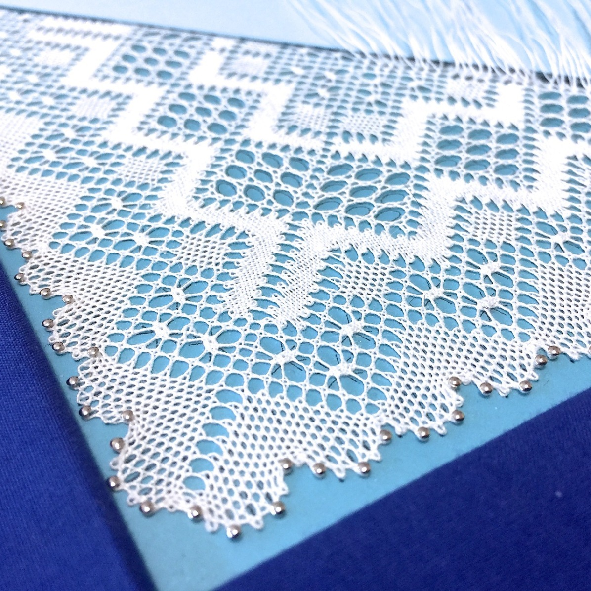 Torchon lace made by Yvette Slabbert. Design by Christine Johnson.