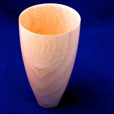 Jacaranda pot turned by Mauritz