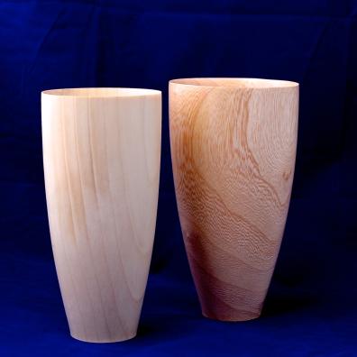 Jacaranda and Ginkgo pots by Mauritz