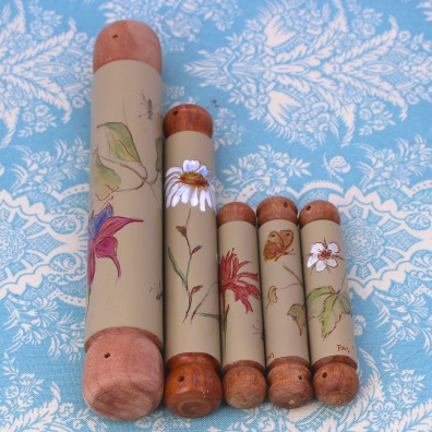 Bobbin lace rollers